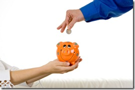 Saving money in money market account